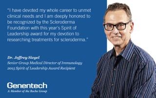 Jeff Siegel scleroderma award