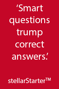 Smart questions trump correct answers